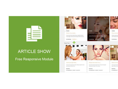 Article Show by olwebdesign